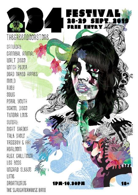 234 Fest Green Door Store Poster