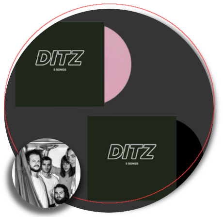 Ditz 5 Songs 1 New EP Image 001